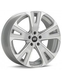 Enkei Universal SVX Truck & SUV 20x8.5 40mm Offset 5x114.3 Bolt 72.6mm Bore Silver Machined Wheel