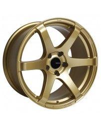 Enkei T6S 17x8 45mm Offset 5x100 Bolt Pattern 72.6 Bore Gold Wheel