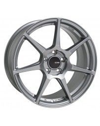 Enkei TFR 18x9.5 5x100 45mm Offset 72.6 Bore Diameter Storm Gray Wheel