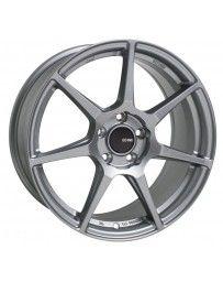 Enkei TFR 18x8.5 5x100 45mm Offset 72.6 Bore Diameter Storm Gray Wheel