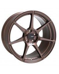 Enkei TFR 19x8.5 5x114.3 35mm Offset 72.6 Bore Diameter Copper Wheel
