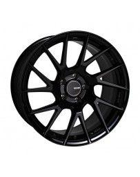 Enkei TM7 17x9.0 5x100 45mm Offset 72.6mm Bore Gloss Black Wheel