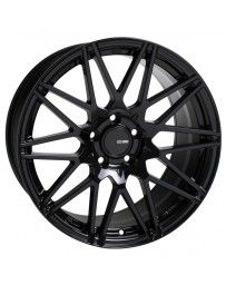Enkei TMS 18x8.5 5x112 45mm Offset 72.6mm Bore Gloss Black Wheel
