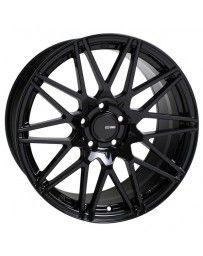 Enkei TMS 18x9.5 5x100 45mm Offset 72.6mm Bore Gloss Black Wheel
