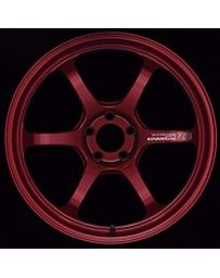 Advan Racing R6 20x9.5 +22mm 5-120 Racing Candy Red Wheel