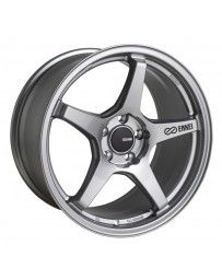 Enkei TS-5 18x9.5 5x100 45mm Offset 72.6mm Bore Storm Grey
