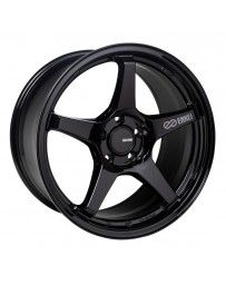 Enkei TS-5 18x8 5x100 45mm Offset 72.6mm Bore Gloss Black