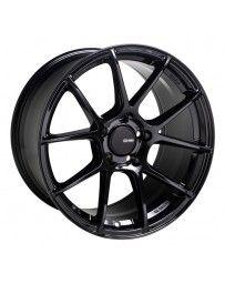 Enkei TS-V 17x9 5x100 45mm Offset 72.6mm Bore Gloss Black Wheel