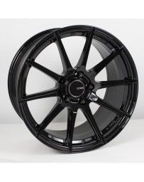 Enkei TS10 18x8.5 45mm Offset 5x100 Bolt Pattern 72.6mm Bore Dia Black Wheel