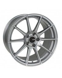 Enkei TS10 17x9 5x114.3 35mm Offset 72.6mm Bore Grey Wheel