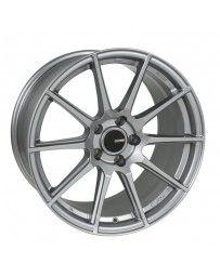 Enkei TS10 17x9 5x100 45mm Offset 72.6mm Bore Grey Wheel
