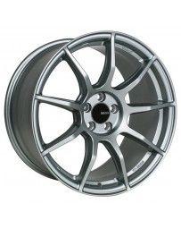 Enkei TS9 18x9.5 5x114.3 30mm Offset 72.6mm Bore Platinum Grey