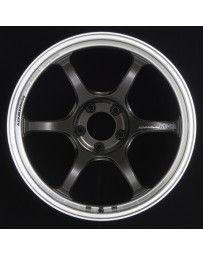 Advan Racing RG-D2 18x10.0 +22 5-114.3 Machining & Black Gunmetallic Wheel