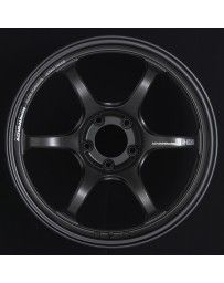 Advan Racing RG-D2 18x9.5 +40 5-100 Semi Gloss Black Wheel