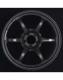 Advan Racing RG-D2 18x9.5 +45 5-114.3 Semi Gloss Black Wheel