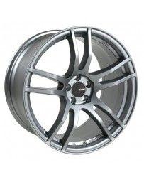 Enkei TX5 18x8.5 5x112 42mm Offset 72.6mm Bore Platinum Grey