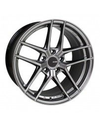Enkei TY5 18x8.5 5x100 45mm Offset 72.6mm Bore Hyper Silver Wheel
