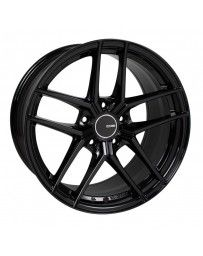 Enkei TY5 18x9.5 5x120 35mm Offset 72.6mm Bore Black Wheel