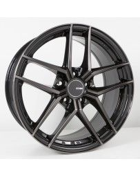 Enkei TY5 18x9.5 5x120 35mm Offset 72.6mm Bore Pearl Black Wheel