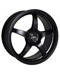 Enkei VR5 17x8 38mm Offset 5x108 Bolt Pattern 72.6mm Bore Dia Matte Black Wheel