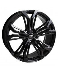 Enkei Vortex 5 Wheel 18x8 38mm Offset 5x114.3 72.6mm Bore Black Paint Wheel