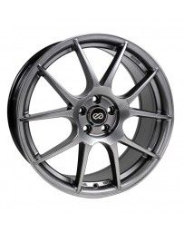 Enkei YS5 17x7.5 4x100 42mm Offset 72.6mm Bore Hyper Black Wheel