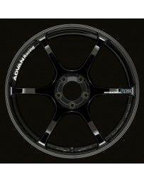 Advan Racing RGIII 18x10.5 +15 5-114.3 Racing Gloss Black Wheel