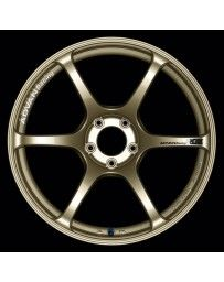 Advan Racing RGIII 17x9.0 +45 5-114.3 Racing Gold Metallic Wheel