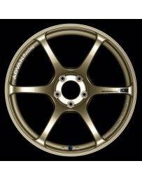 Advan Racing RGIII 17x7.0 +42 4-100 Racing Gold Metallic Wheel