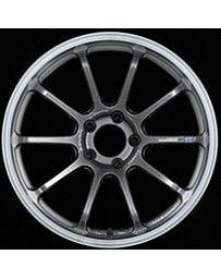 Advan Racing RS-DF Progressive 18x10.5 +15 5-114.3 Machining & Racing Hyper Black Wheel