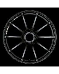 Advan Racing RSII 18x10.0 +25 5-114.3 Semi Gloss Black Wheel