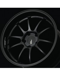 Advan Racing RZ-DF 19x10.5 +15 5-114.3 Matte Black Wheel