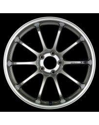 Advan Racing RZ-DF 19x8.5 +52 5-130 Hyper Silver Wheel