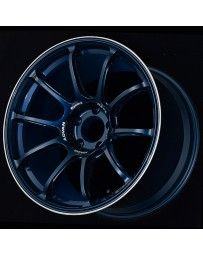 Advan Racing Racing RZ-F2 18x9.5 +45 5-120 Racing Titanium Blue & Ring Wheel