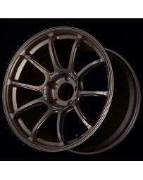Advan Racing RZ-F2 18x9.5 +44 5-100 Racing Umber Bronze Wheel