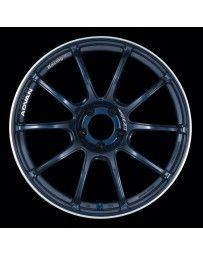 Advan Racing RZII 18x10.5 +15 5-114.3 Racing Indigo Blue Wheel