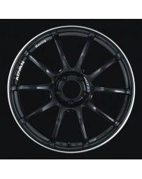 Advan Racing RZII 18x10.5 +15 5-114.3 Racing Gloss Black Wheel