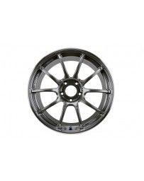 Advan Racing RZII 19x9.5 +50 5-114.3 Racing Hyper Black Wheel
