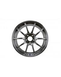 Advan Racing RZII 18x9.5 +35 5-114.3 Racing Hyper Black Wheel
