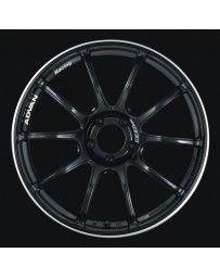 Advan Racing RZII 18x9.5 +35 5-114.3 Racing Gloss Black Wheel