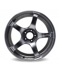 Advan Racing TC4 18x8.5 +31 5-114 Racing Black Gunmetallic & Ring Wheel