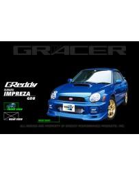 GReddy Gracer Front Lip Spoiler Urethane Subaru WRX 2002-2005
