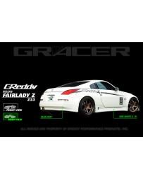 GReddy Rear under spoiler Nissan 350Z 2002-ON