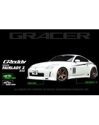 GReddy Gracer Front Lip Spoiler Nissan 350Z 2003-2008