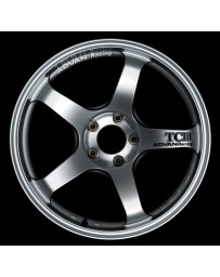 Advan Racing TCIII 18x9.5 +35 5-120 Hyper Silver Wheel