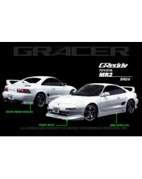 GReddy Gracer Side Skirts Toyota MR2 1990-1996