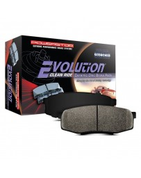 Toyota Supra GR A90 MK5 Power Stop Z16 Evolution Clean Ride Ceramic Front Disc Brake Pads