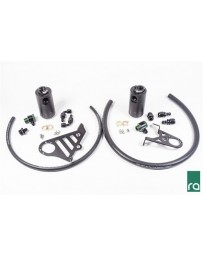Radium Engineering 2016+ Ford Focus RS Dual Catch Can Kit