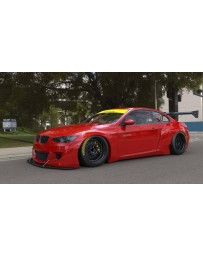GReddy Pandem Full Rocket Bunny Wide-Body Aero Kit w/ Ducktail Wing BMW M3 (E92) 07-13