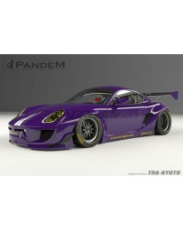 GReddy Pandem RB 05-08 Porsche Cayman Complete Wide Body Aero Kit WITH WING (Special Order)